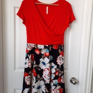 Gilli Fit & Flare Dress